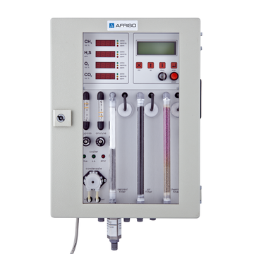 Gas analyser BIOLYZER For discontinuous measurement
