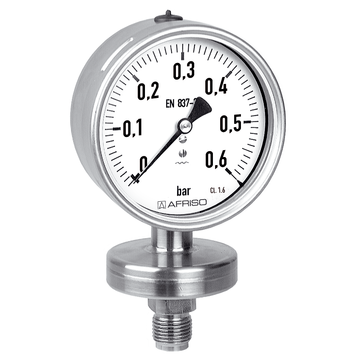 Mechanical pressure measuring instruments