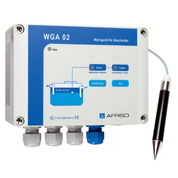 Afriso Alarm unit for separators WGA 02