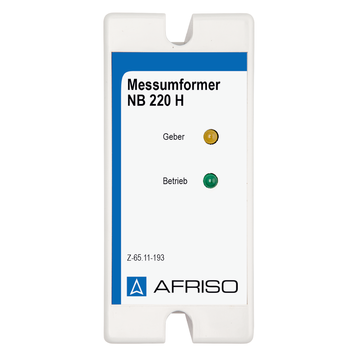 Afriso Transducer NB 220 H for overfill prevention system (WHG)