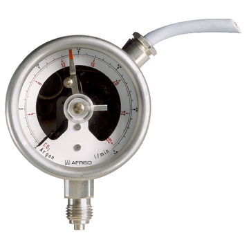 Afriso Bourdon tube pressure gauge with electrical contact type D3