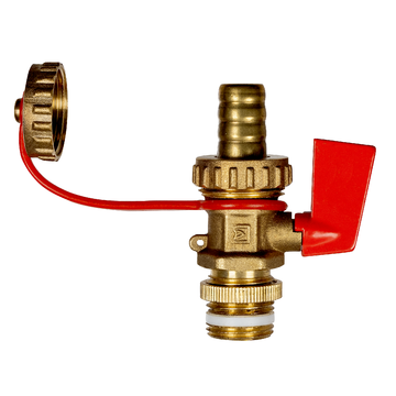 Afriso Boiler filling and drain valves