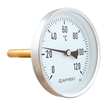 Afriso Bimetal thermometer for industrial applications BiTh I