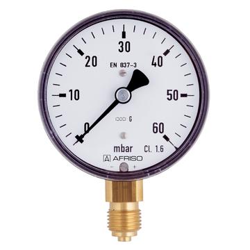 Mechanical pressure measuring instruments - Afriso - Afriso