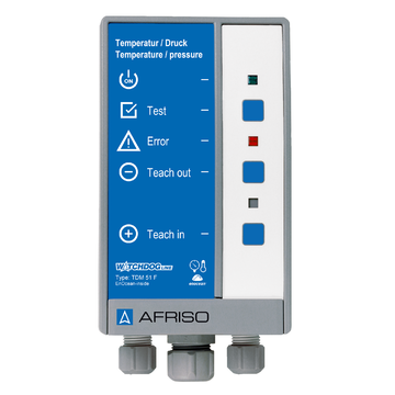 Afriso Temperature and pressure measuring instrument TDM 51 F