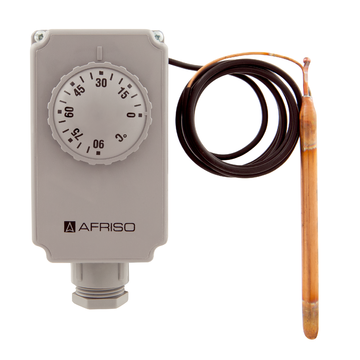 Afriso Thermostats with housing GTK With capillary tube
