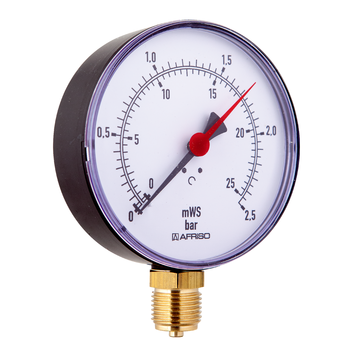 Afriso Hydrometers HY for heating/plumbing