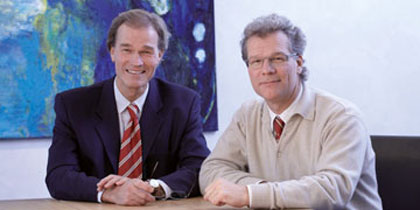 Elmar und Jürgen Fritz, Managing Directors and Owners